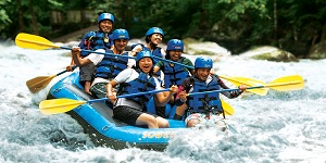 Bali Ubud Ayung River Rafting Tour Packages