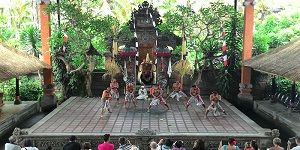 Barong and Keris Dance Performance