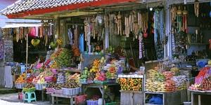 Bali Candi Kuning Market