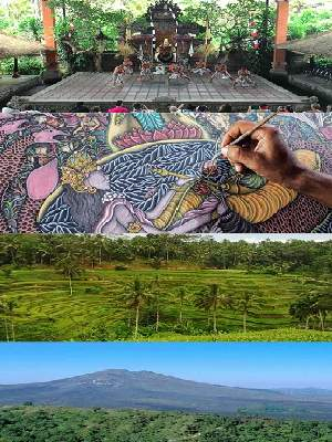 Bali Overnight Tour Day 01 - Ubud and Kintamani Tour