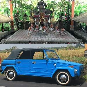 Bali Ubud Volkswagen Safari Tour