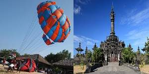 Bali Water Sports and Denpasar City Tour